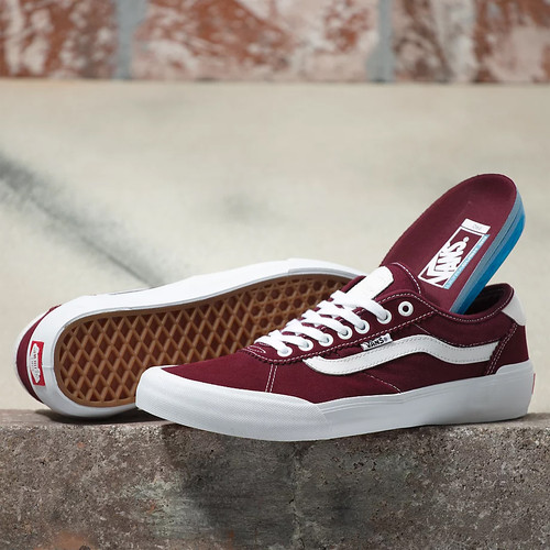Vans Shoes - Chima Pro 2 - Port/White