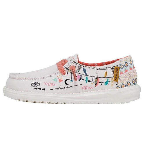 Hey Dude Youth Shoes - Wendy - Doodle Boho