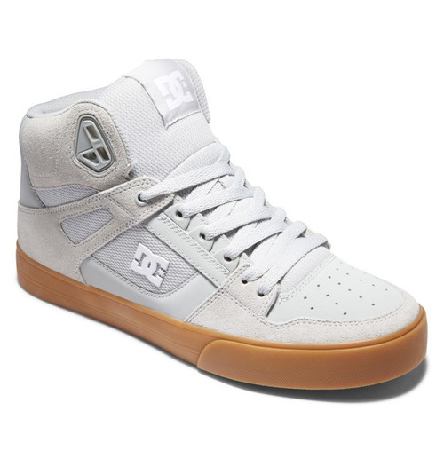 DC Shoes - Pure High Top - Grey/Gum