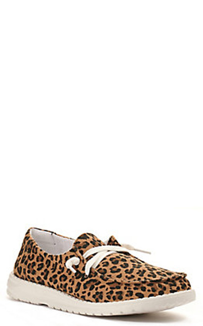 Gypsy Jazz Women's Shoes - Cheetah - Tan/Leopard