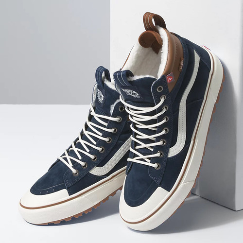 Vans Shoes - Sk8-Hi MTE 2.0 DX - Dress Blues/Marshmallow
