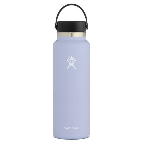 Hydro Flask Bottle - 40 Oz Wide Mouth Flex Cap - Fog
