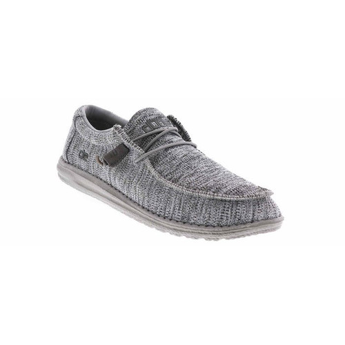 Hey Dude Shoes - Wally B Sox - Grey