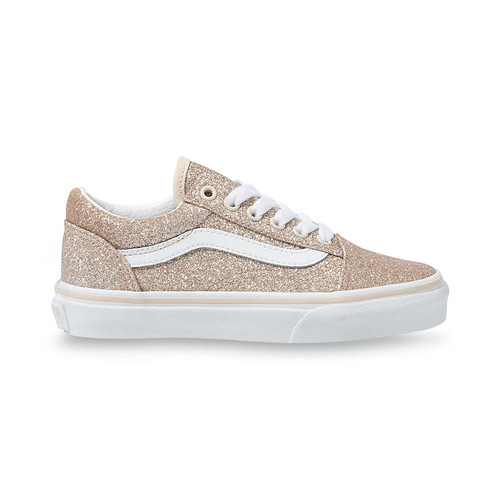Vans Youth Shoes - Old Skool - Brazilian Sand/True White