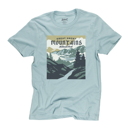 Landmark Tee Shirt - Smoky Mountains - Desert Sky