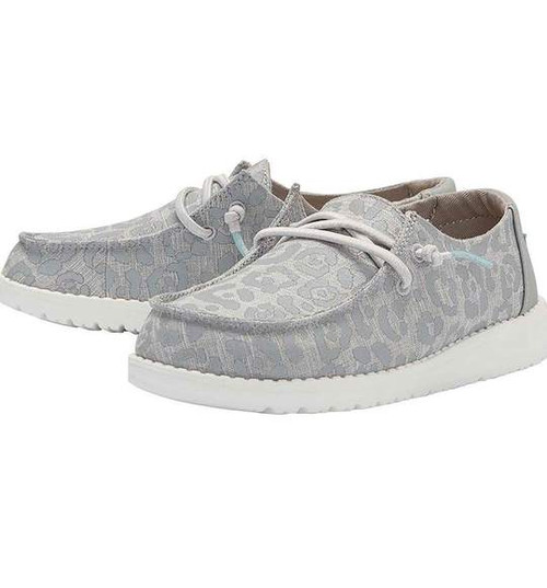 Hey Dude Youth Shoes - Wendy - Cat Eye Grey
