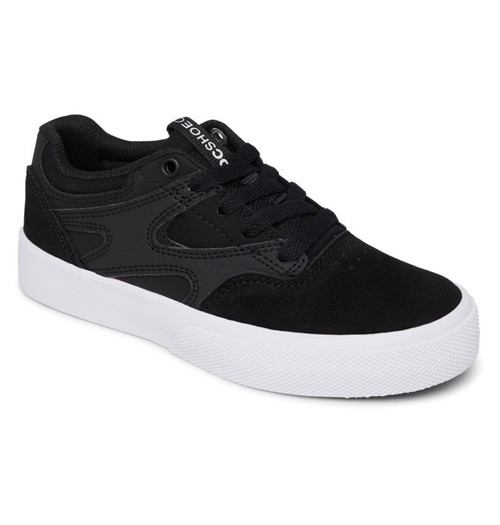 DC Youth Shoes - Kalis Vulc - Black/Black/White