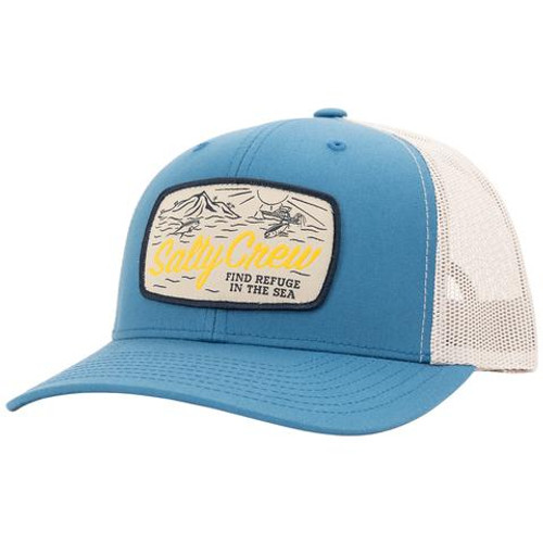 Salty Crew Hat - Tuna Isle Retro Trucker - Slate