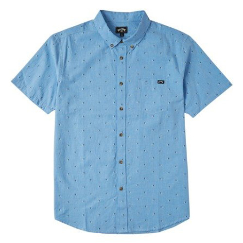 Billabong Shirt - All Day Jacquard - Powder Blue