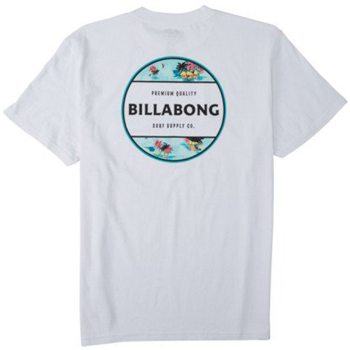 Billabong Tee Shirt - Rotor - White2