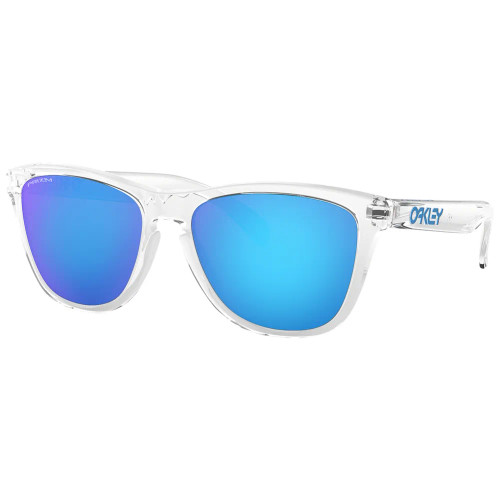 Oakley Sunglasses - Frogskins - Crystal Clear/Prizm Sapphire