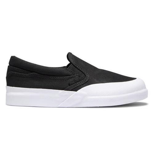 DC Youth Shoes - Infinite Slip On - Black/White