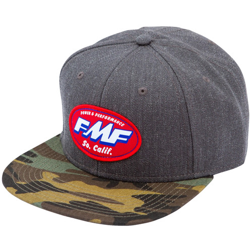 FMF Hat - Greasy - Black Heather