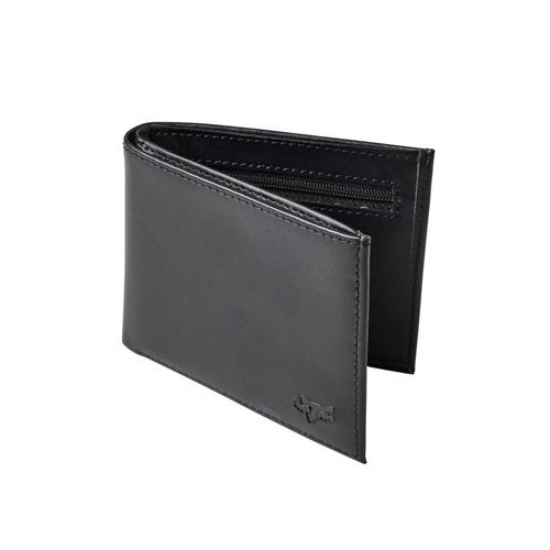Fox Wallet - Bifold Leather - Black