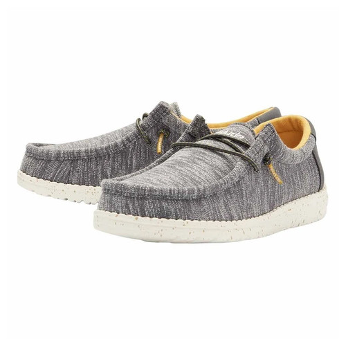 Hey Dude Youth Shoes - Wally Stretch - Sage