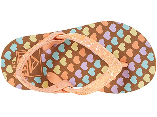 Reef Youth Flip Flop - Little Stargazer Prints - Mini Hearts