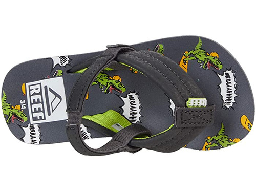 Reef Youth Flip Flop - Little Ahi - Dino Brah