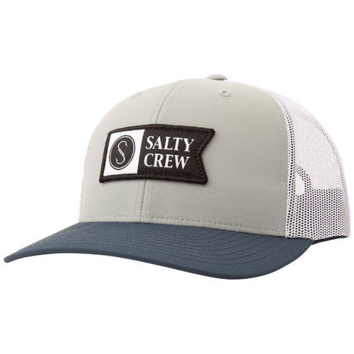Salty Crew Hat - Pinnacle 2 Retro - Sage/Indigo