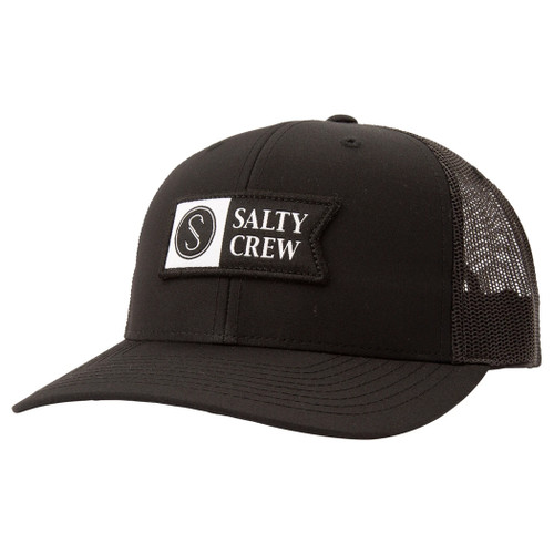 Salty Crew Hat - Pinnacle 2 Retro - Black