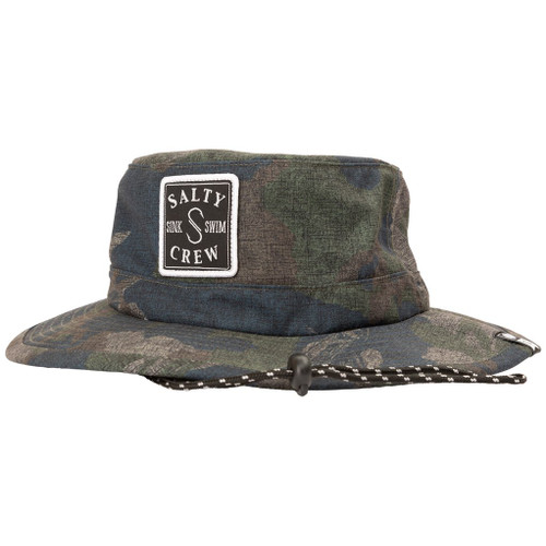 Salty Crew Hat - S-Hook Boonie - Camo