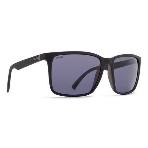 VonZipper Sunglasses - Lesmore Polarized - Black Smoke Satin/Grey