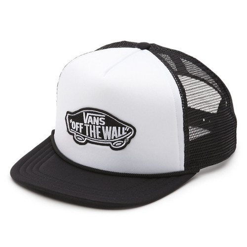 Vans Hat - Classic Patch Trucker - White/Black