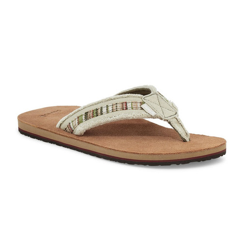 Sanuk Flip Flop - Fraid So - Natural