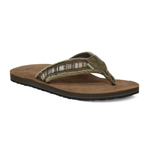 Sanuk Flip Flop - Fraid So - Brown