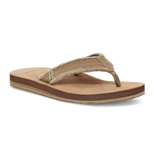 Sanuk Flip Flop - Fraid Not ST - Natural