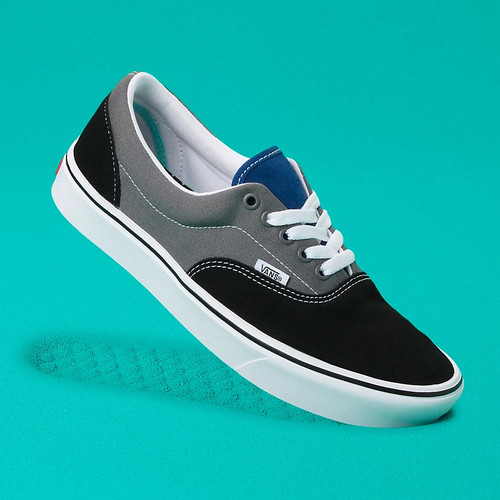 Vans Shoes - Comf-Cush Era - Tri-Tone Black/Pewter