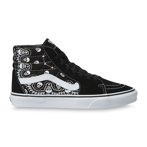 Vans Shoes - Sk8-HI - Bandanna Black/True White