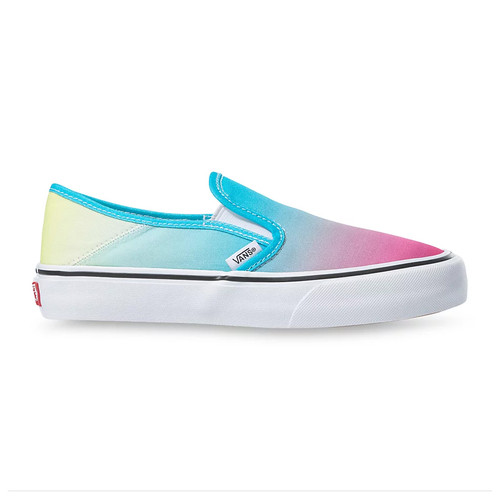 Vans Women's Shoes - Slip-On SF - Multi/True White