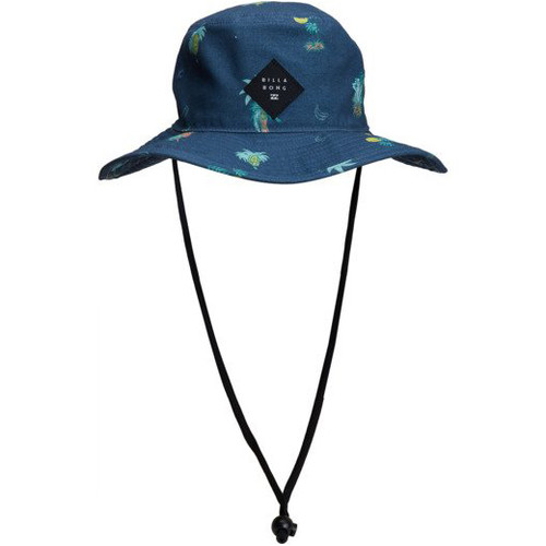 Billabong Hat - Big John Print Bucket - Dark Blue