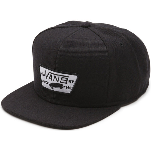 Vans Hat - Full Patch Snapback - True Black