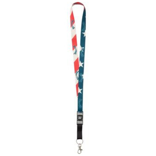 Billabong Lanyard - Looper - Navy/Red