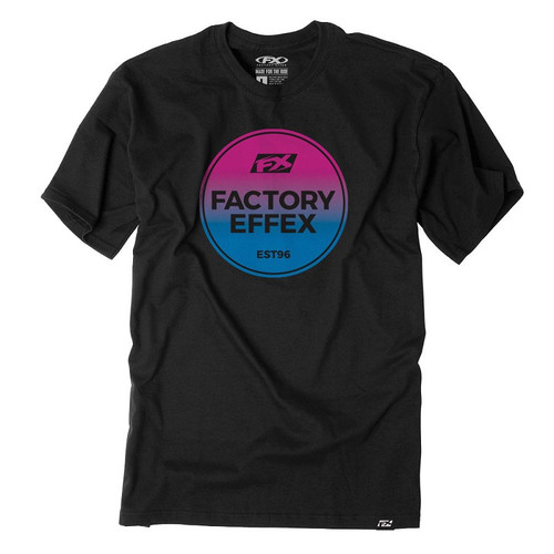 Factory Effex Tee Shirt - FX Sunset - Black
