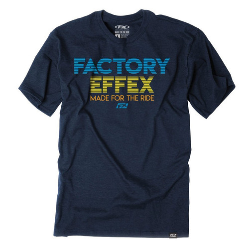 Factory Effex Tee Shirt - Lit - Navy