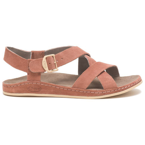 Chaco Women's Shoes - Wayfarer - Suede Clay