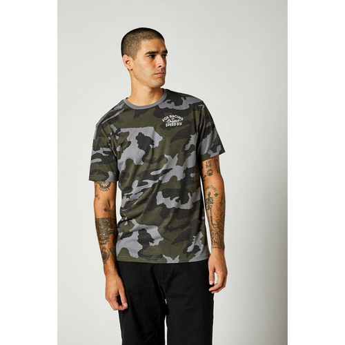 Fox Tee Shirt - OG Camo Tech - Camo