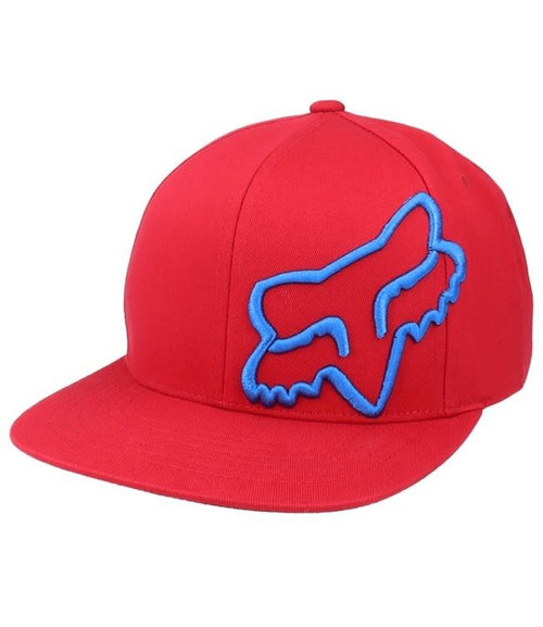 Fox Hat - Headers Snapback - Red