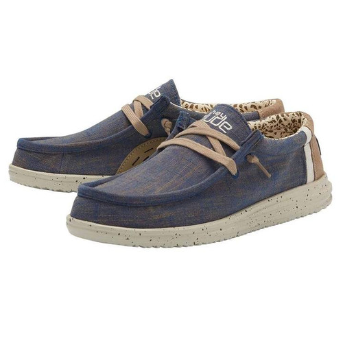 Hey Dude Shoes - Wally Free - Natural Blue