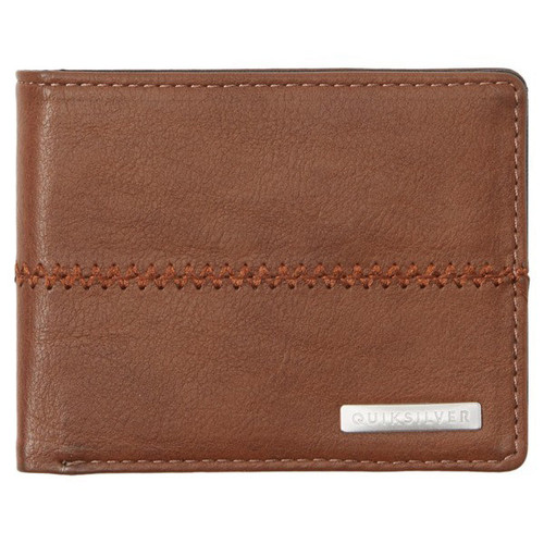 Quiksilver Wallet - Stitchy 3 - Chocolate Brown