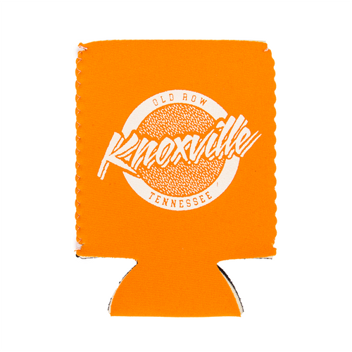 Old Row Accessory - Knoxville TN Koozie - Orange White