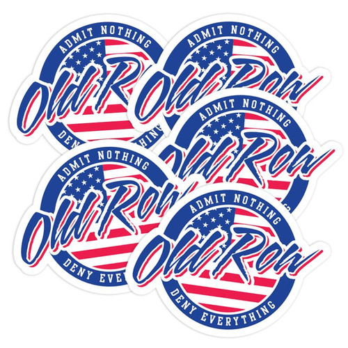 Old Row Decal - Old Row USA - Red/White/Blue