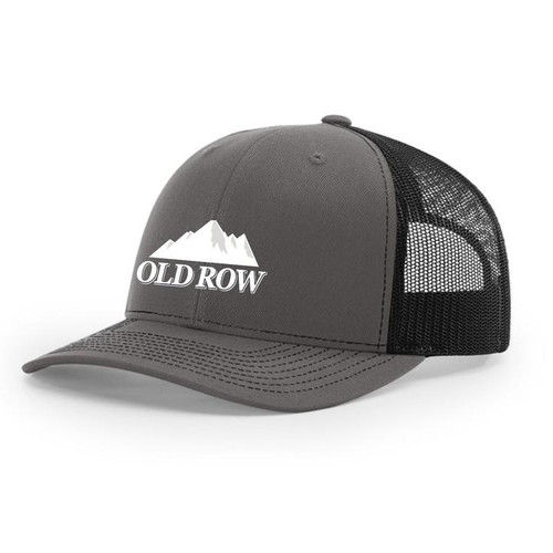 Old Row Hat - Mountain Brew Mesh - Charcoal Black