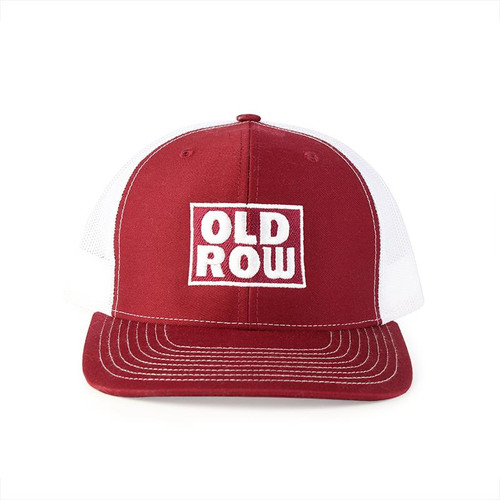 Old Row Hat - Classic Mesh - Red