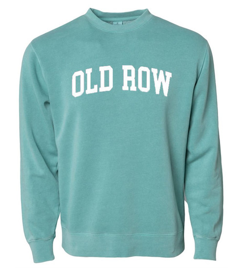 Old Row Hoodie - Pigment Dyed Crewneck - Mint
