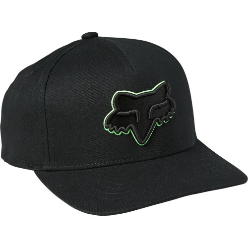 Fox - Youth Hat - Youth Epicycle 110 Snapback - Black/Green