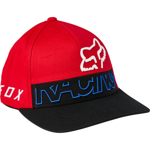 Fox - Hats - Youth Skew Flexfit - Flame Red