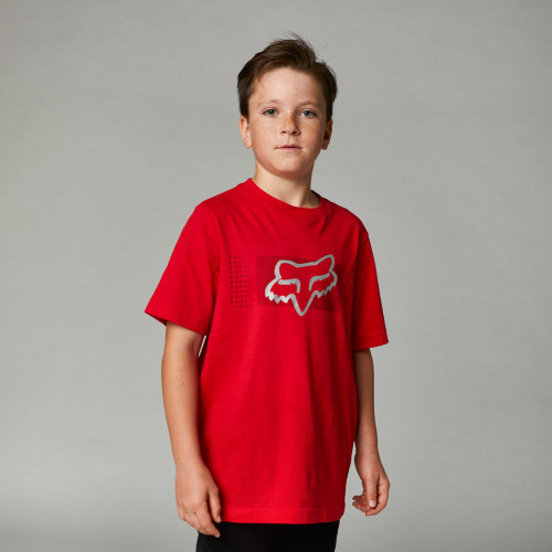 Fox - Youth Tee - Youth Mirer Basic Tee - Flame Red